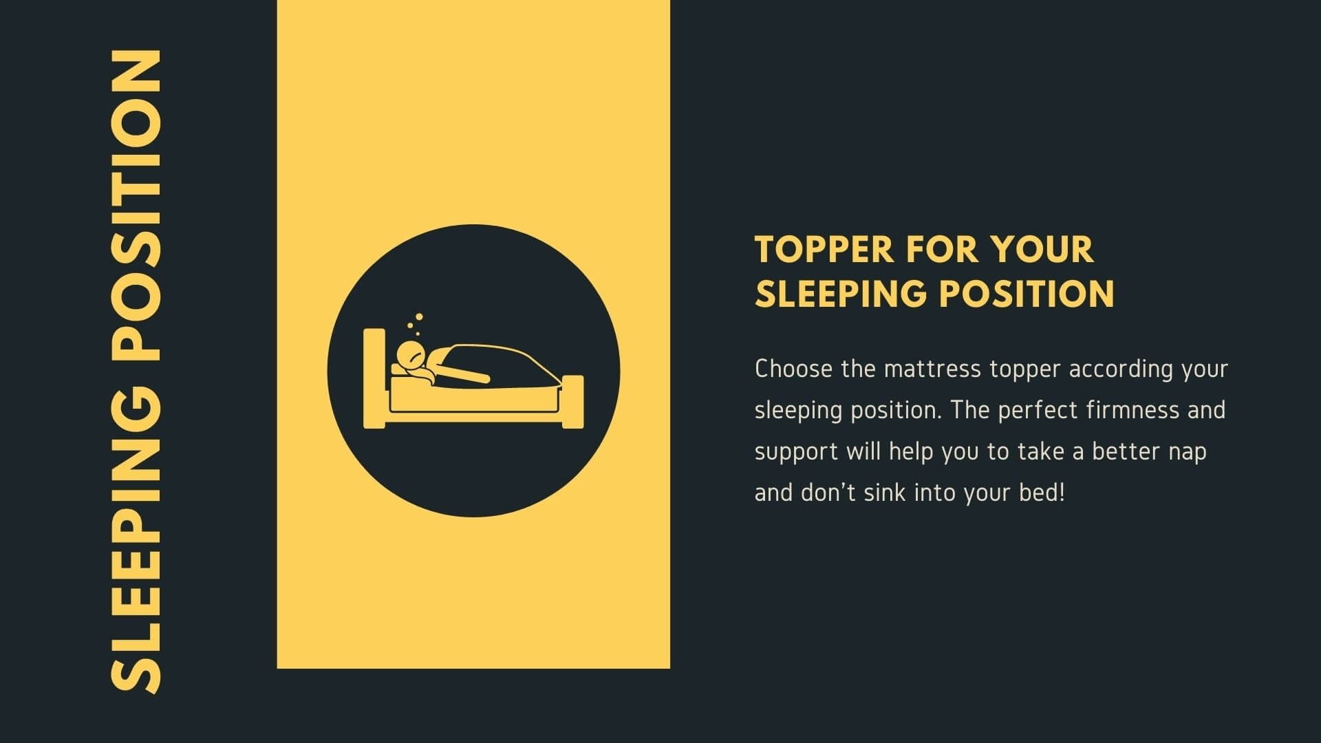 Mattress Toppers for your sleeping position