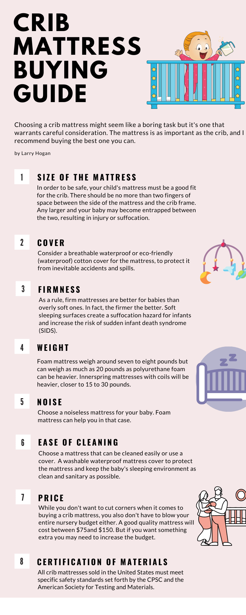 Crib Mattresses Buying Guide