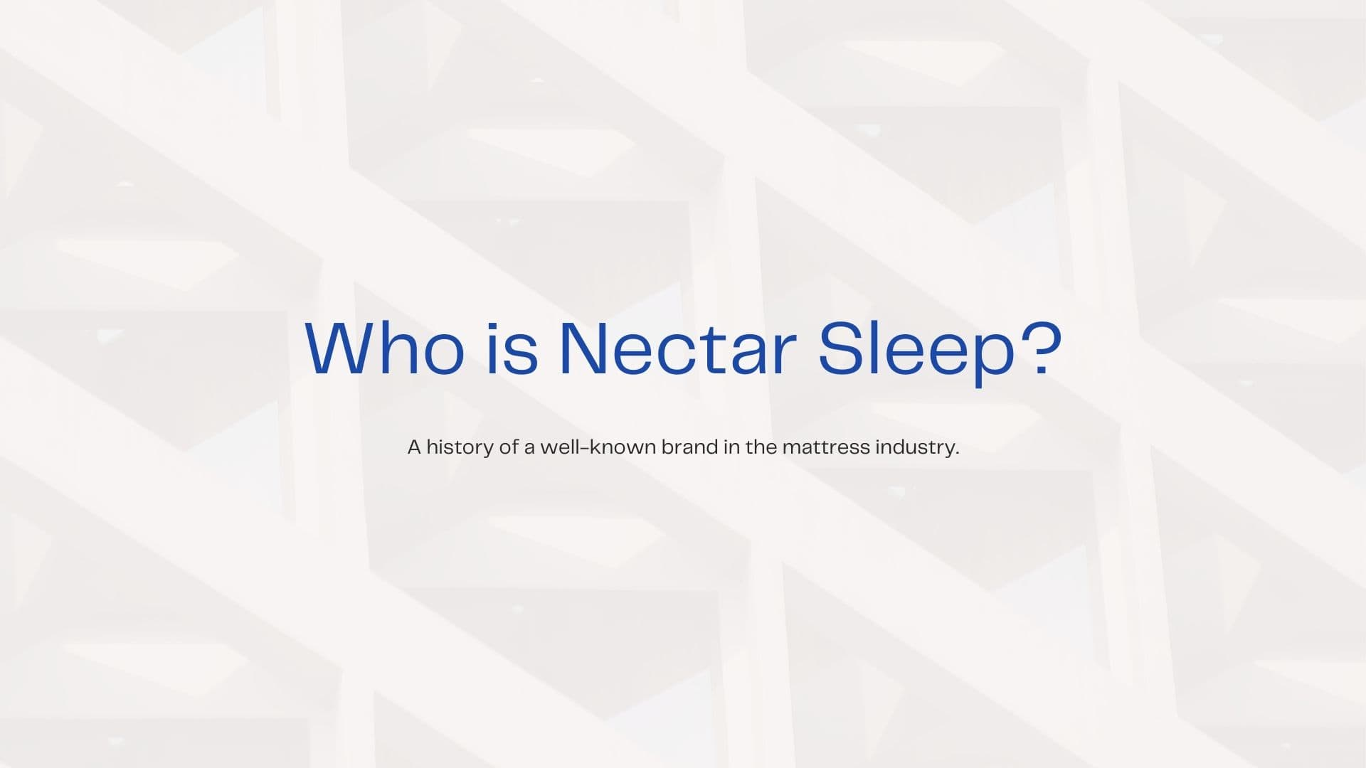 Nectar bed review 2021